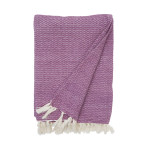 Elisabeth York Blythe Throw - Boysenberry