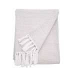 Elisabeth York Blythe Throw - Natural