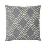 Elisabeth York Mavis Decorative Pillow - Fog