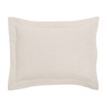 Elisabeth York Hemstitch Sham - Natural