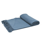 Elisabeth York Lavato Bed Throw - Storm