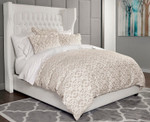 DownTown Company Taylor Duvet Cover - Latte