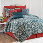 C&F Madison Quilt Set - Adriatic