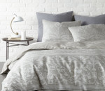 Levtex Belvedere Duvet Cover Set - Grey