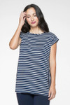 BambooDreams® Andi 2-Way Stripe Top - Boat Stripe