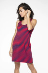 Bamboo Dreams® Riley Dress -  French Stripe