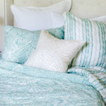 Elisabeth York Liana Quilt - Sea Glass