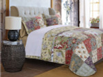 Greenland Home Blooming Prairie Quilt Set