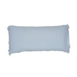 Elisabeth York Lavato Bolster Pillow - Fog