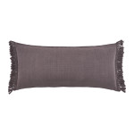 Elisabeth York Lavato Bolster Pillow - Fig