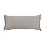 Elisabeth York Lavato Bolster Pillow - Oyster