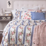 Amity Home Antoinette Duvet Cover Set - Cornflower Blue