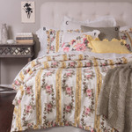 Amity Home Antoinette Duvet Cover Set - Vintage Yellow