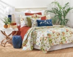 C&F Watercolor Floral Quilt Set
