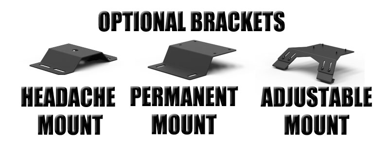 Optional Mounting Brackets from Feniex Industries.