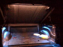 Standard Truck Bed Lighting Kit, Additional Items Pictured