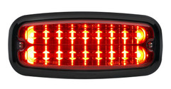 M7FB Optional Black Mounting Flange for Whelen M7 Installed on M7R Red LED Surface Mount Warning Light