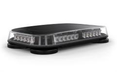 Feniex Fusion Mini Light Bar M-6116 or M-6116D shown with both 40 degree and 180 degree optics.