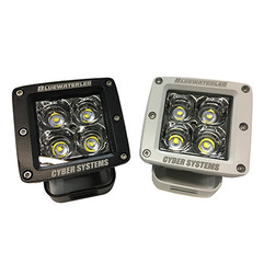 901-2 CyberLite LED from Bluewater LED available in White or Black Housings.