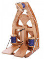 Ashford Spinning Wheel:  Joy 2 - Double Treadle - Carrying Case - Lacquered