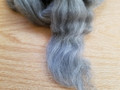 Corriedale Sliver, Natural Grey - 100g