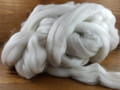 Sock Fibre with Sparkle, Undyed - 100g