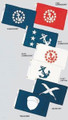 Yacht Club Officer Flags