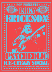 SOLD OUT Roky Erickson Ice Cream Social