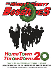 SOLD OUT - Tickets go on sale to the public Friday, Sept. 15 at 10am ET - Thank you! The Mighty Mighty BossToneS  Hometown Throwdown 20 - 737 3-night ticket package