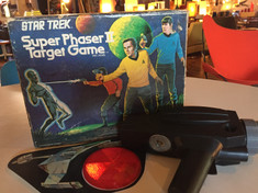 Star Trek Super Phaser Target Game