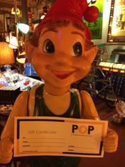 $25 POP Gift Certificate