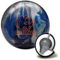 Brunswick Rhino Bowling Ball - Black/Blue/Silver Pearl