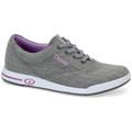 Dexter Women's Kerrie Bowling Shoes - Grey Twill/Purple