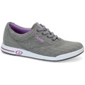 Dexter Women's Kerrie Bowling Shoes - Grey Twill/Purple