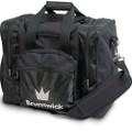 Brunswick Edge 1 Ball Tote Bowling Bag - Black
