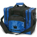 Brunswick Edge 1 Ball Tote Bowling Bag - Blue