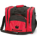 Brunswick Edge 1 Ball Tote Bowling Bag - Red