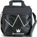 Brunswick Blitz 1 Ball Tote Bowling Bag - Black
