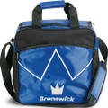 Brunswick Blitz 1 Ball Tote Bowling Bag - Blue