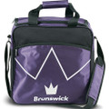 Brunswick Blitz 1 Ball Tote Bowling Bag - Purple