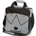 Brunswick Blitz 1 Ball Tote Bowling Bag - Silver