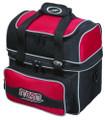 Storm Flip Tote Single Ball Bowling Bag - Black/Red