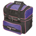 Storm Flip Tote Single Ball Bowling Bag - Black/Purple