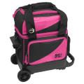BSI Single Ball Roller Bowling Bag - Black/Pink
