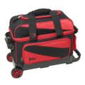 BSI 2 Ball Roller Bowling Bag - Black/Red