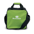 Brunswick TZone Single Ball Tote Bowling Bag - Lime