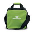 Brunswick TZone 1 Ball Tote Bowling Bag - Lime