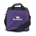 Brunswick TZone 1 Ball Tote Bowling Bag - Purple