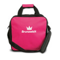 Brunswick TZone Single Ball Tote Bowling Bag - Pink