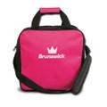 Brunswick TZone 1 Ball Tote Bowling Bag - Pink